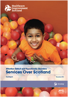 ADHD services over scotland