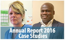 Annual report case studies 2016