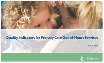 Quality indicators for Primary Care Out-of-Hours Services